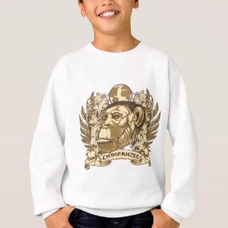 Schmutz-Schimpanse Sweatshirt