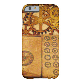 Schmutz Steampunk Gänge Barely There iPhone 6 Hülle