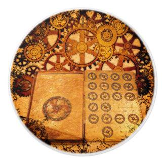 Schmutz Steampunk Gänge Keramikknauf
