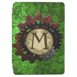 Schmutz Steampunk übersetzt Monogramm-Buchstaben M iPad Air Cover