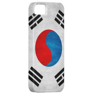 Schmutz-Südkorea-Flagge iPhone 5 Hülle