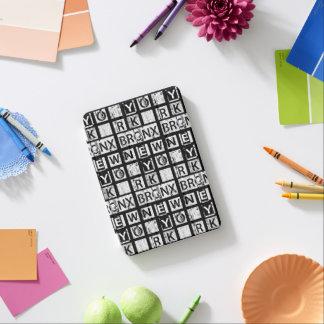 Schmutz-Typografie Bronx New York | iPad Mini Hülle