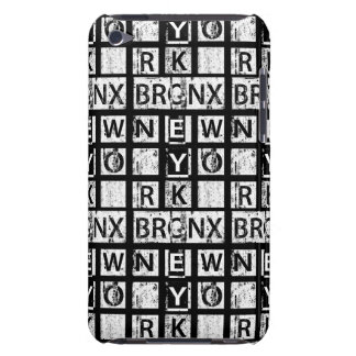 Schmutz-Typografie Bronx New York | iPod Touch Etuis