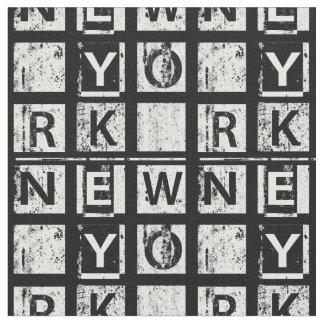 Schmutz-Typografie Bronx New York | Stoff