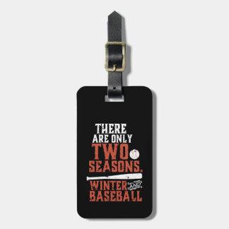 Schmutz und beunruhigtes lustiges Baseball-Zitat Kofferanhänger