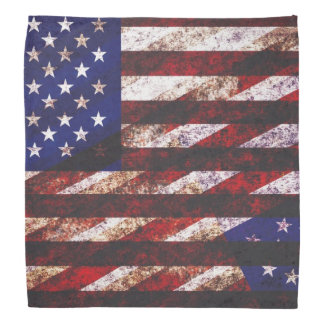 Schmutz USA-Flagge Halstücher