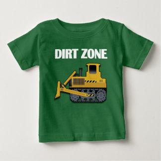 Schmutz-Zone (Planierraupe) - Baby-feines Jersey-T Baby T-shirt