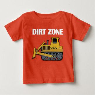 Schmutz-Zone (Planierraupe) - Ihre Baby T-shirt