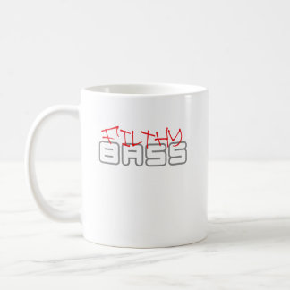 SCHMUTZIGE BASS-Dubstep Tollpatschschritt Kaffeetasse