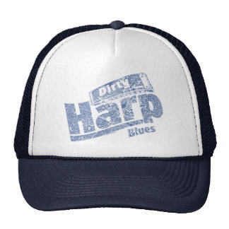 Schmutzige Harfen-Blues Trucker Cap