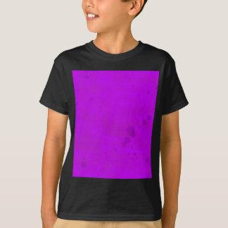 Schmutzige lila Wasser-Flecke T-Shirt