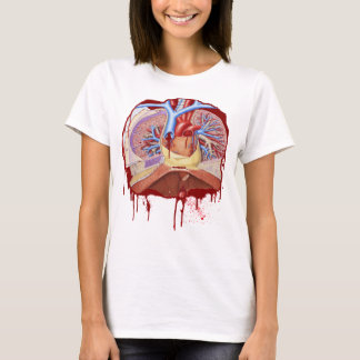 SCHMUTZIGER BLUTEN-KASTEN-Frauen T-Shirt