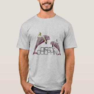 Schmutziger Delphin T-Shirt