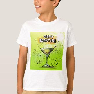 Schmutziger Martini - Cocktail-Geschenk T-Shirt