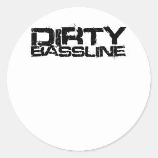 Schmutziges Bassline Dubstep Sticker