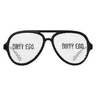 Schmutziges Ego-Junggeselle-Party Sonnenbrille