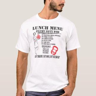 Schmutziges fünfzig WOD T-Shirt des