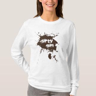 Schmutziges Mädchen Mudding T-Shirt