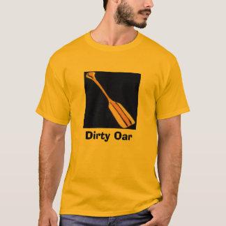 Schmutziges Ruder T-Shirt
