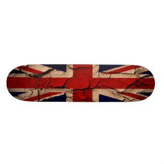 Schmutziges Vintages Großbritannien Individuelles Deck
