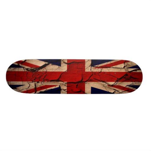 Schmutziges Vintages Großbritannien Individuelle Skateboards