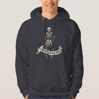 Schnarrtrommel-Skelett Kapuzensweatshirts