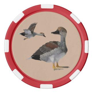 Schnatterenten-Poker-Chips Pokerchips