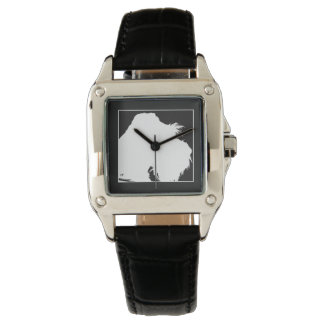 Schnauzer Armbanduhr