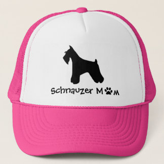 Schnauzer-Mamma-Kappe Truckerkappe