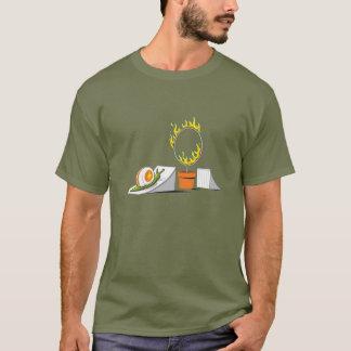 Schnecke gegen Ring des Feuers T-Shirt