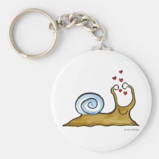 Schnecke-Liebe Schlüsselanhänger