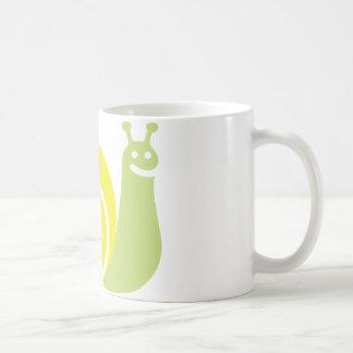 Schnecke-Maskottchen Kaffeetasse
