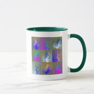 Schnecke-Pop-Kunst Tasse