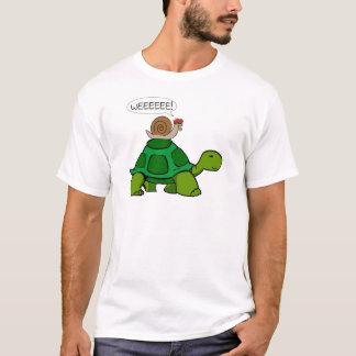 Schnecke u. Schildkröte - Turbo-Duo T-Shirt