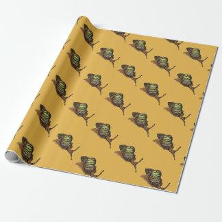 Schneckegeschenkverpackung Geschenkpapier