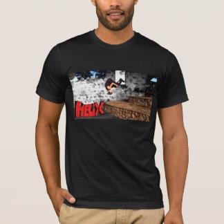 SCHNECKENfront drehen hinunter dreifachen T-Shirt