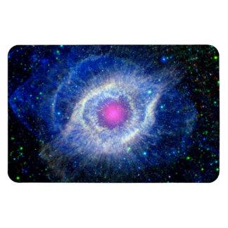Schneckennebelfleck-ultraviolettes Auge des Magnet