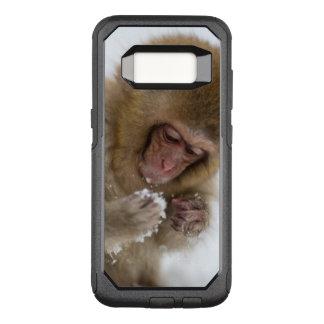 Schnee-Affe Babyjapanischer Macaque-| OtterBox Commuter Samsung Galaxy S8 Hülle
