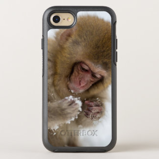 Schnee-Affe Babyjapanischer Macaque-| OtterBox Symmetry iPhone 8/7 Hülle