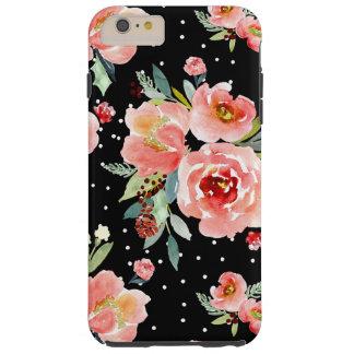 Schnee-Beeren-Blüten-Kasten Tough iPhone 6 Plus Hülle