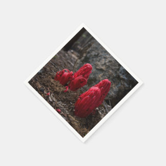 Schnee-Blüten Serviette