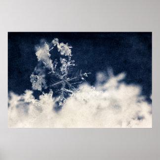 Schnee-Flocke Posterdrucke