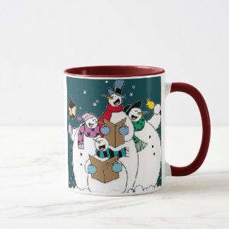 Schnee-Gesang! Tasse