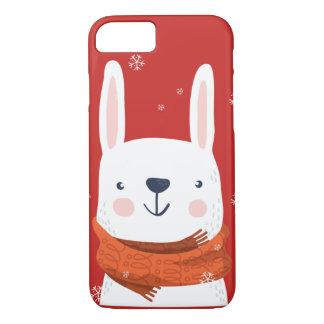 Schnee-Häschen-Feiertage iPhone 8/7 Hülle