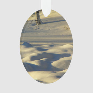 Schnee-Kissen Ornament