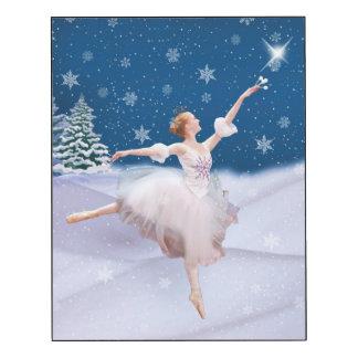 Schnee-Königin-Ballerina und Stern