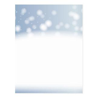 Schnee-Kopien-Raum Postkarte