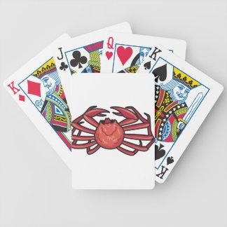 Schnee-Krabbe Bicycle Spielkarten