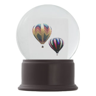 Schnee-Kugel - Heißluft-Ballone Schneekugel