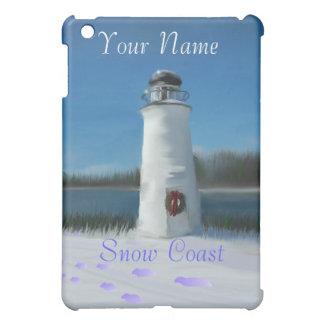 Schnee-Küste Hüllen Für iPad Mini